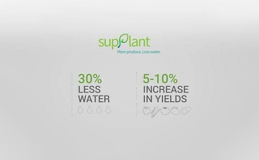 How Supplant is delivering on its promise- More Produce. Less Water.